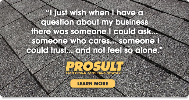 PROSULT networking for roofing contractors